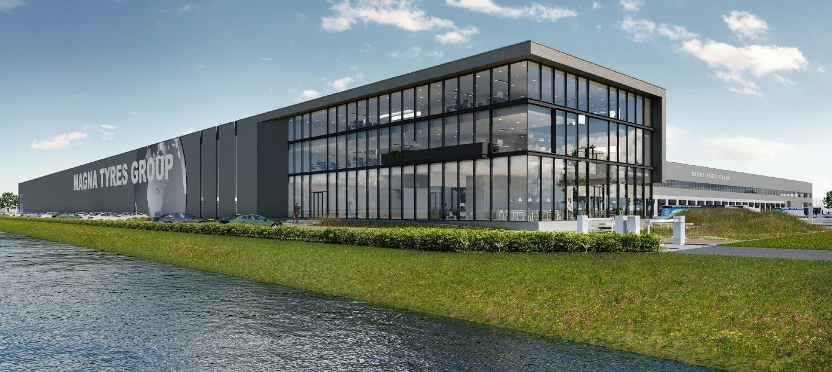 Nieuwbouw Magna Tyres Waalwijk