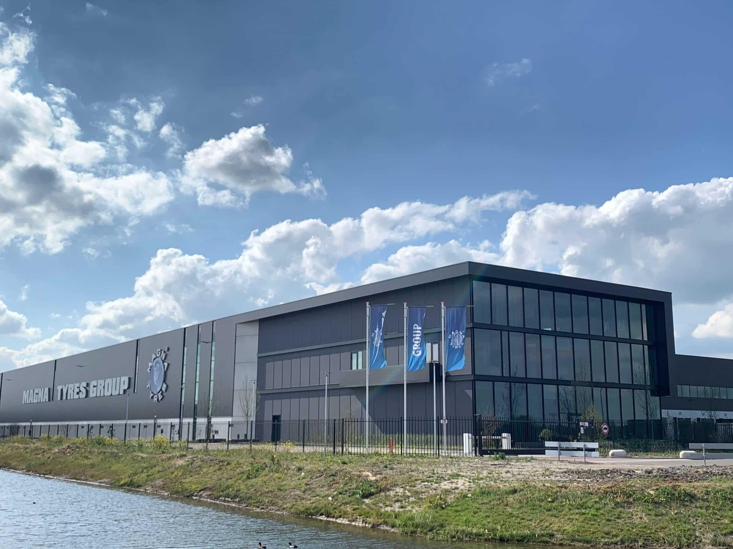 Magna Tyres - Waalwijk, Opdrachtgever: Hardeman & van Harten